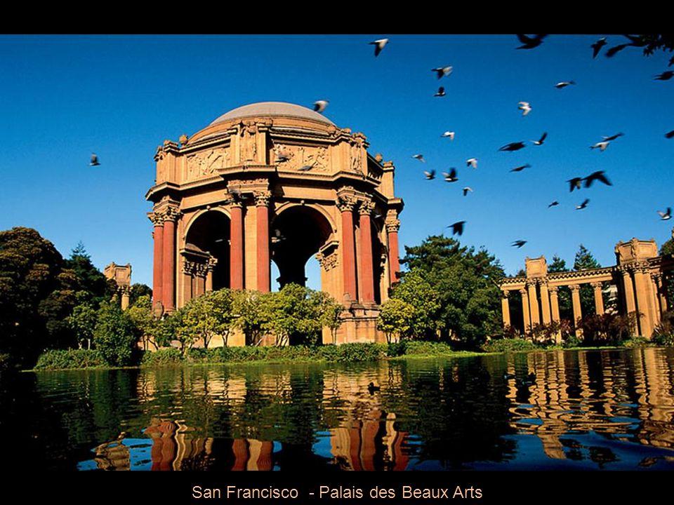 San Francisco - Façades des maisons victoriennes d'Alamo Square