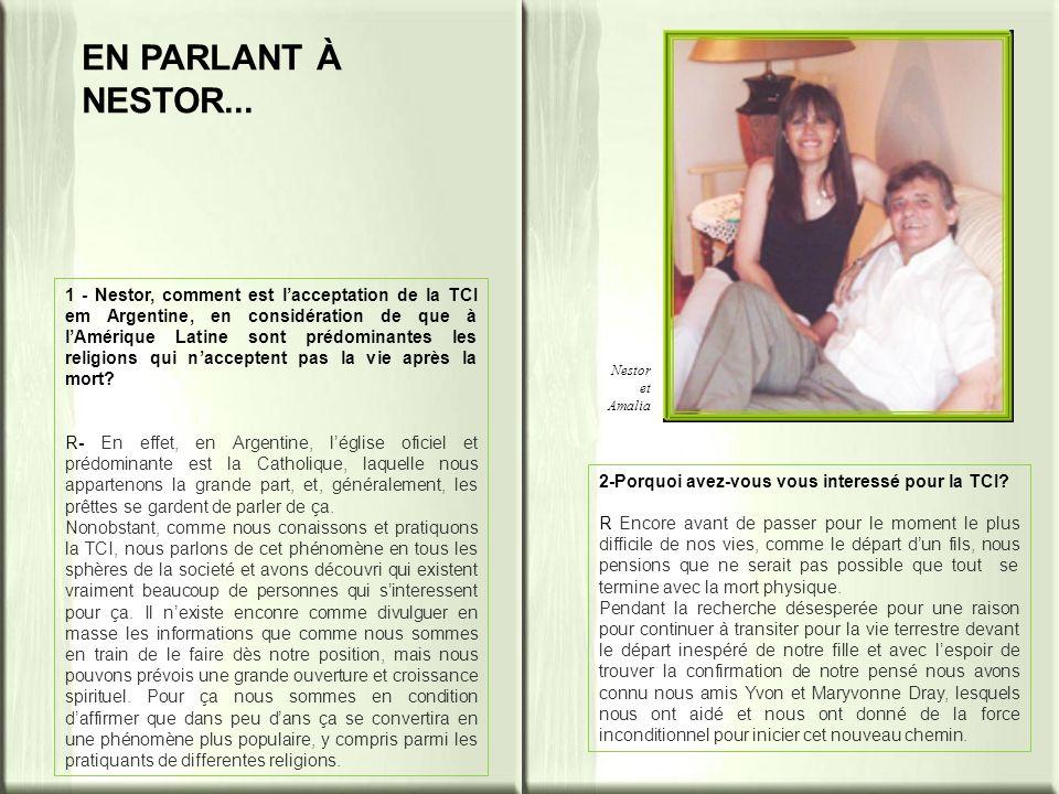 Nestor et Amalia EN PARLANT À NESTOR...