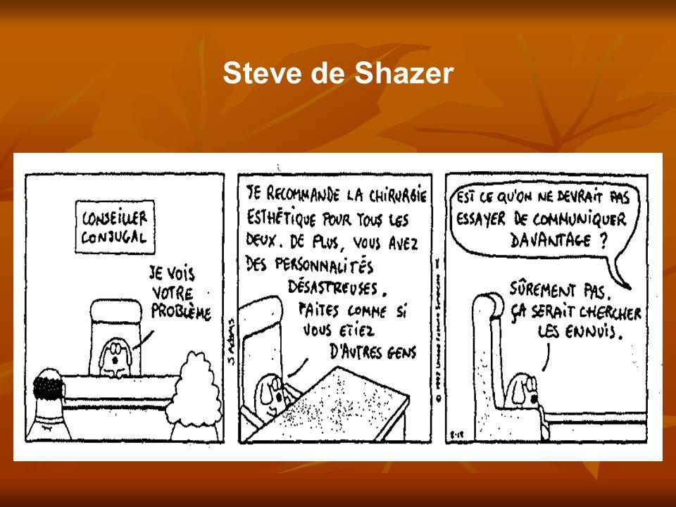 Steve de Shazer