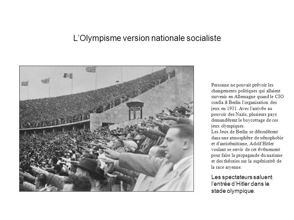 Les déboires de la race aryenne Jesse Owens provoque la colère de Hitler.