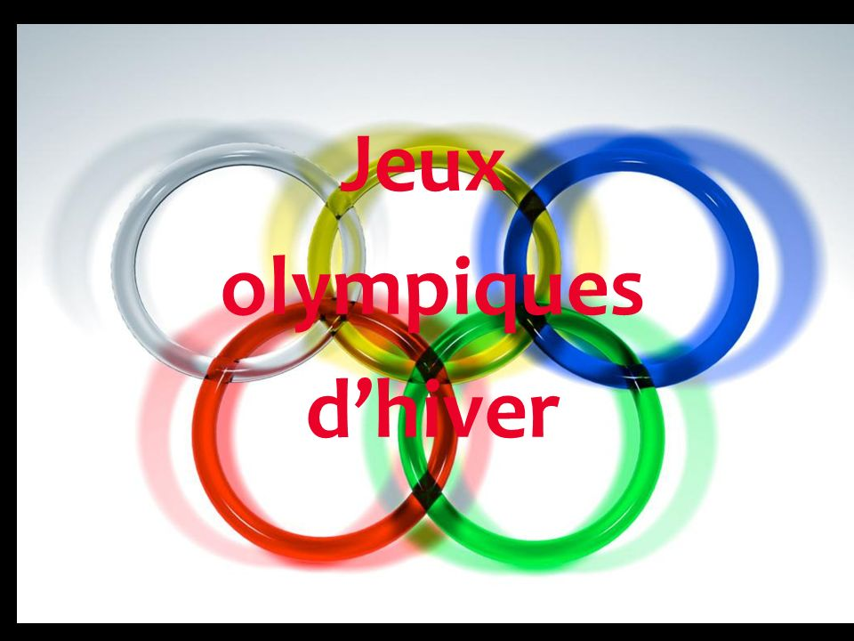 Jeux olympiques dhiver