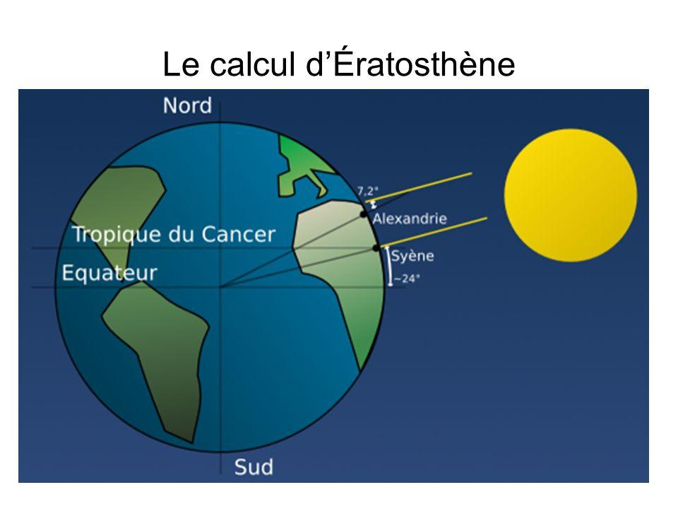 Le calcul dÉratosthène