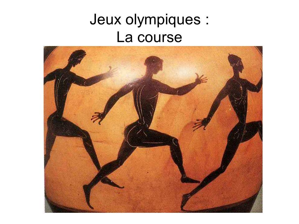 Jeux olympiques : La course