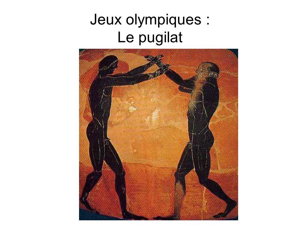 Jeux olympiques : Le discobole
