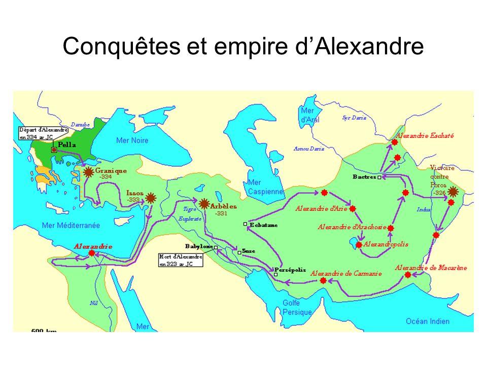 Le partage de l empire d Alexandre, v. 280 av. J.-C.