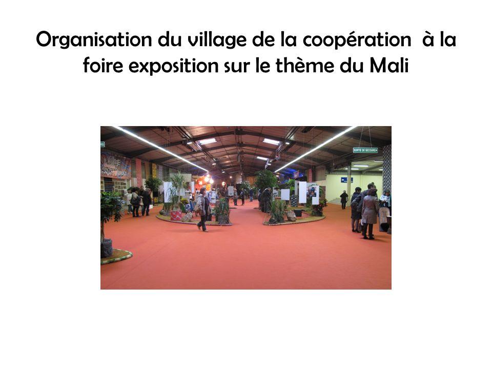 ACTIONS ALM 2012 Don de camion Fabrication de 4 caissons à Bamako