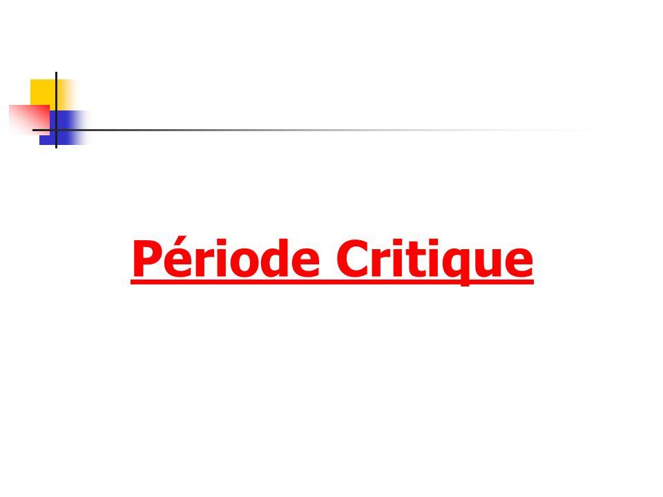 Période Critique
