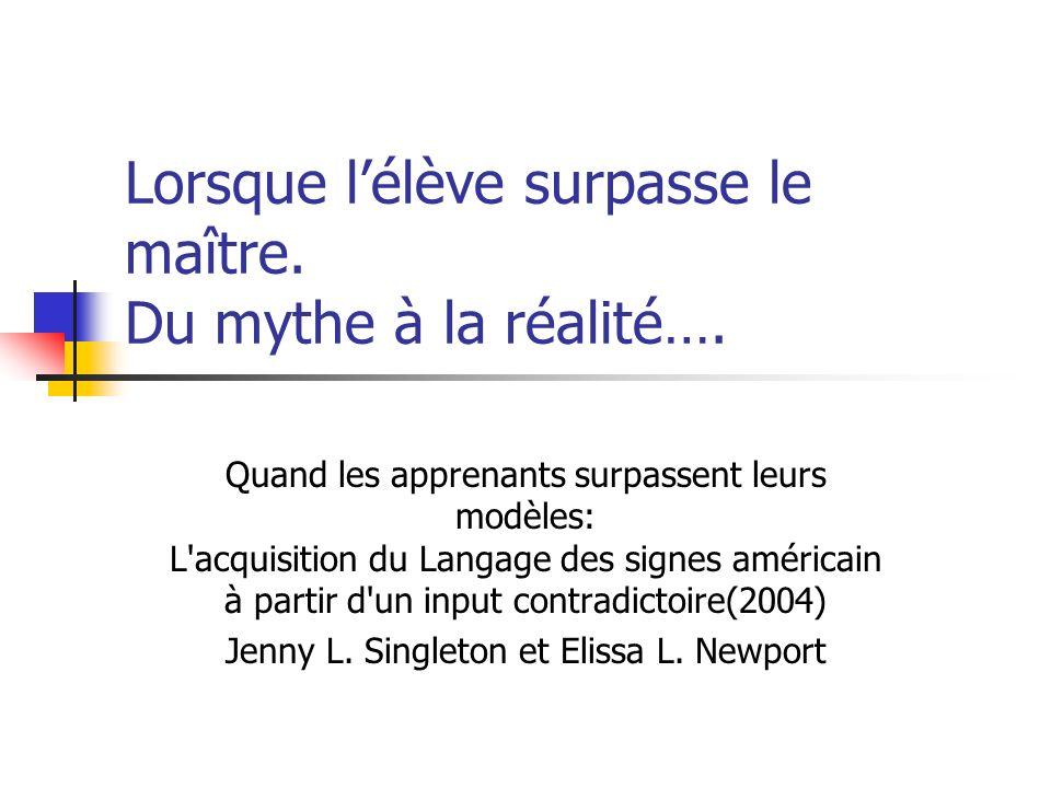 Lorsque lélève surpasse le maître.Du mythe à la réalité….