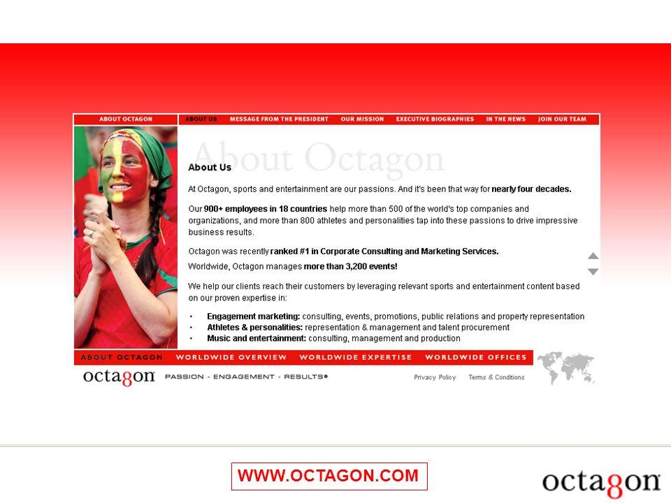 WWW.OCTAGON.COM