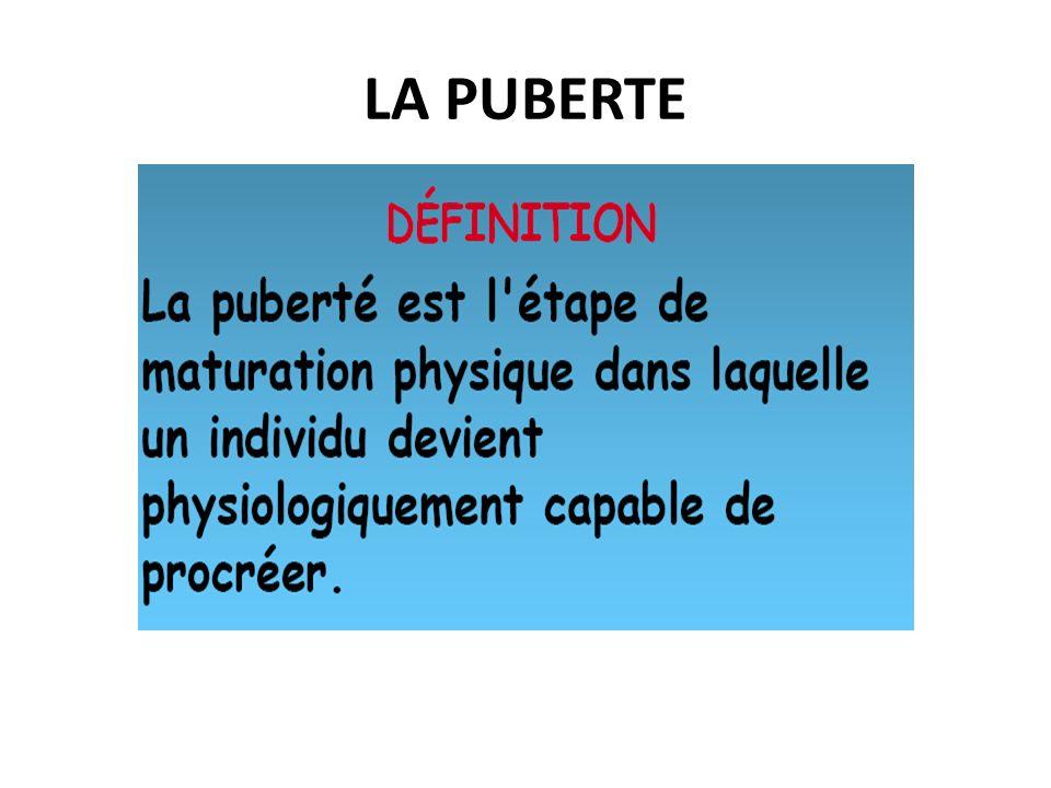 LA PUBERTE