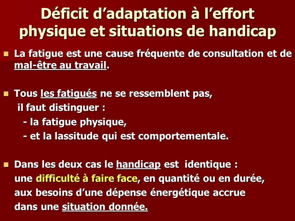 À court terme, le niveau 1 : ladaptation immédiate On l appelle l adaptation immédiate, (appelée aussi aïgue ) celle où l organisme va se contenter : -de refaire les réserves épuisées - et de rééquilibrer ce qui a été perturbé pendant l effort.