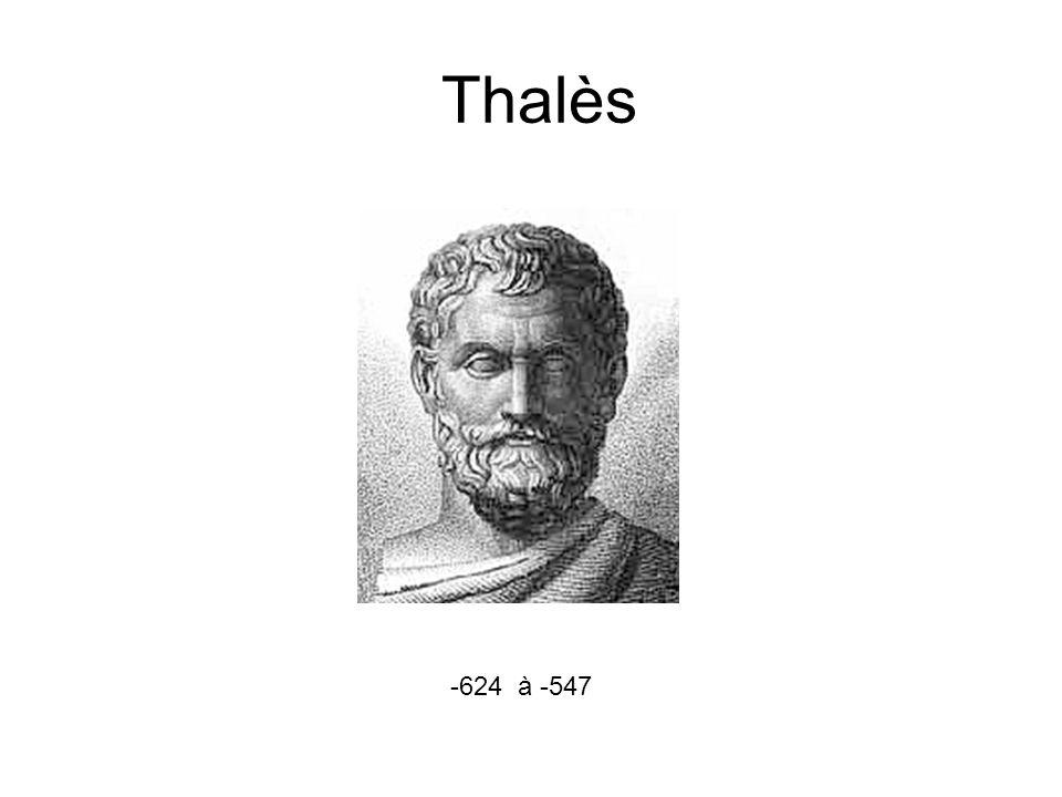 Thalès -624 à -547