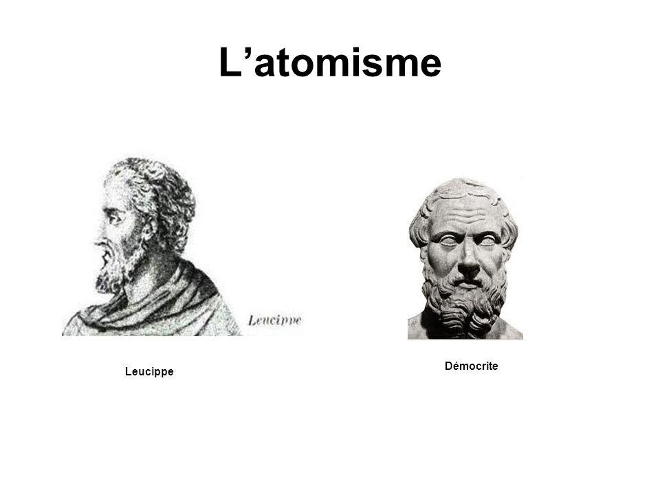 Latomisme Démocrite Leucippe