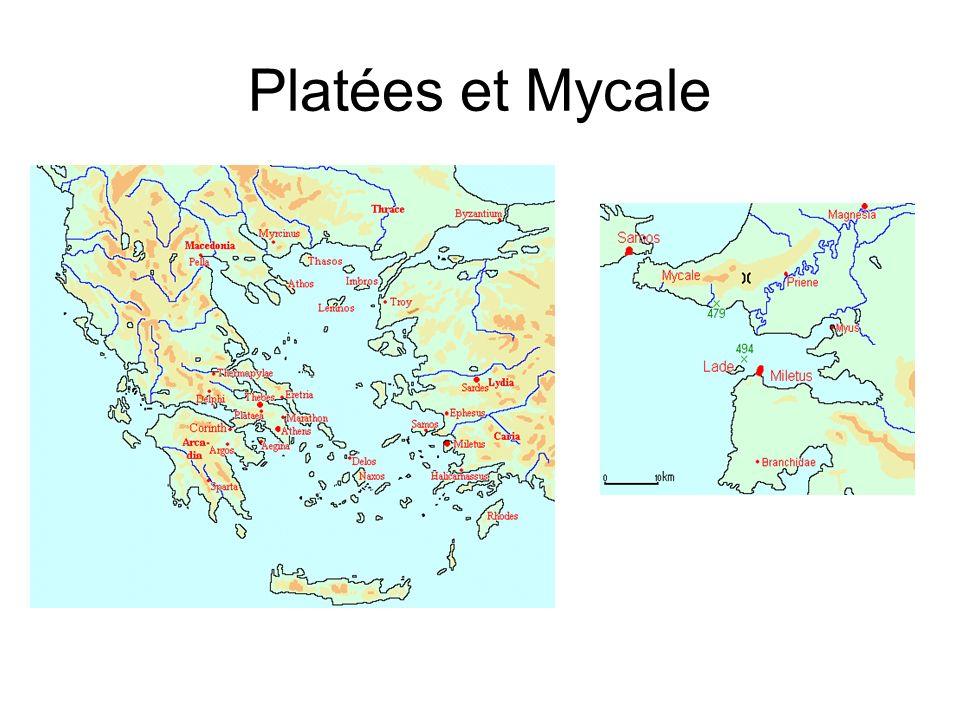 Platées et Mycale