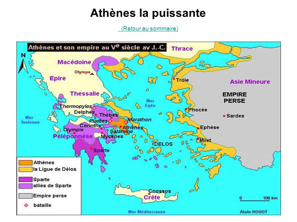 Athènes la puissante (Retour au sommaire) (Retour au sommaire)