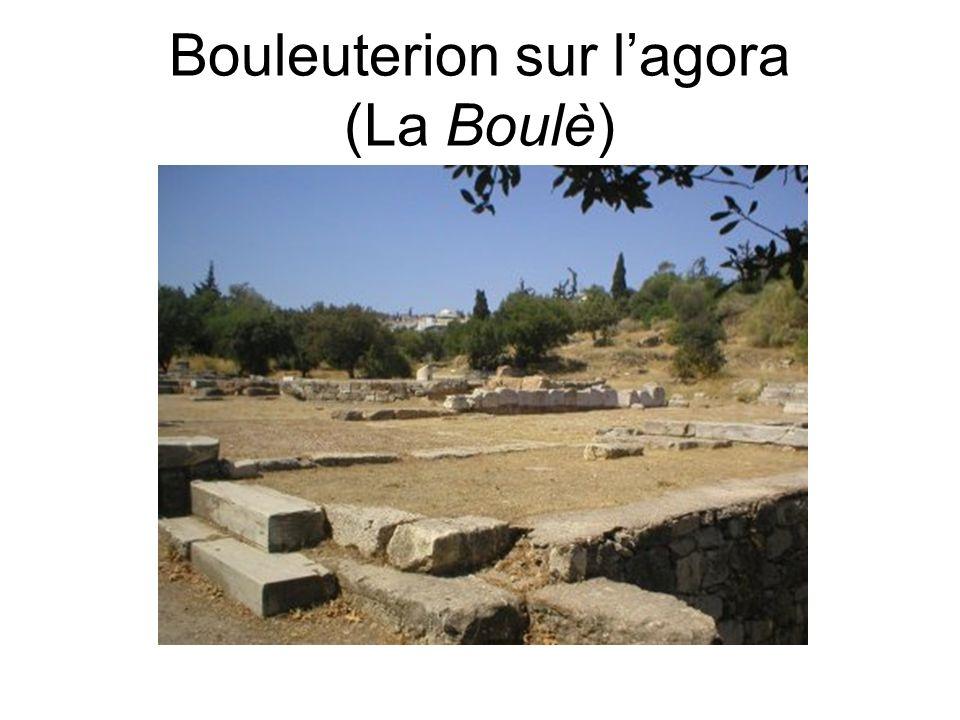 Bouleuterion sur lagora (La Boulè)
