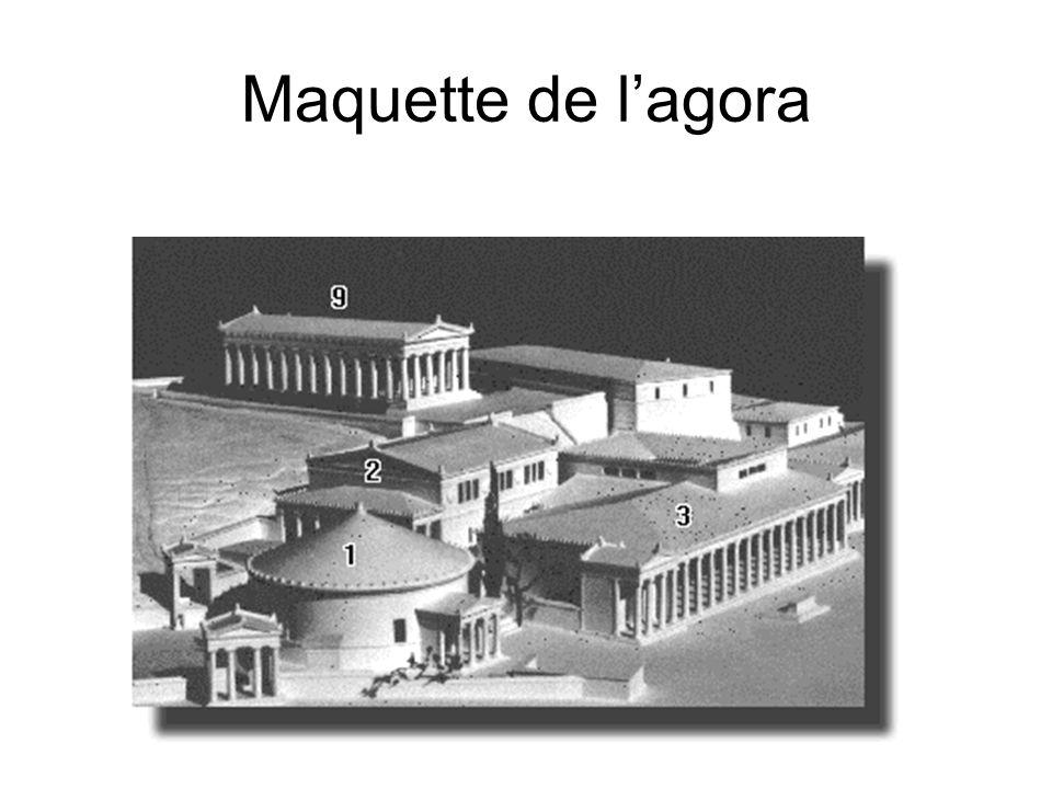 Maquette de lagora