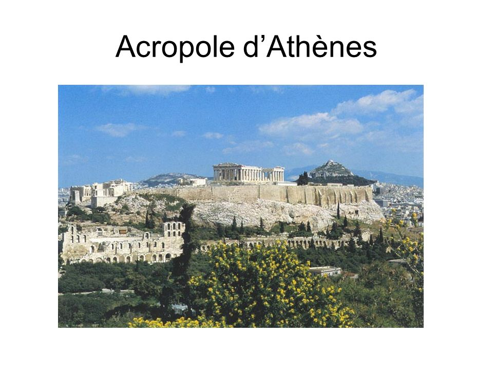 Acropole dAthènes