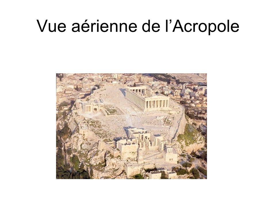 Vue aérienne de lAcropole
