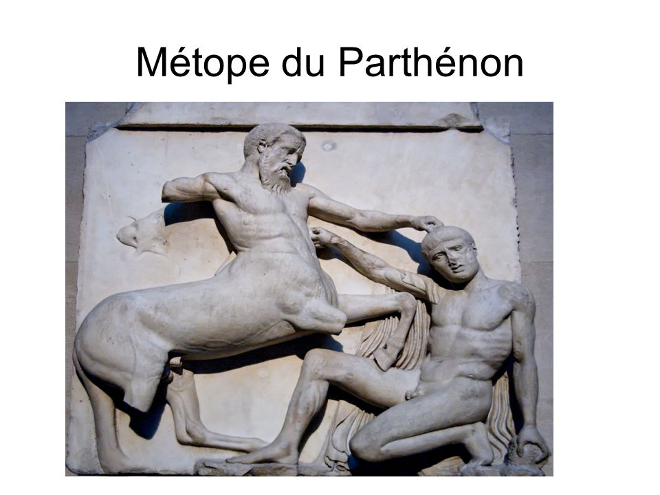 Métope du Parthénon