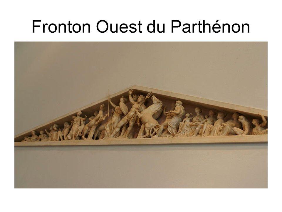 Fronton Ouest du Parthénon