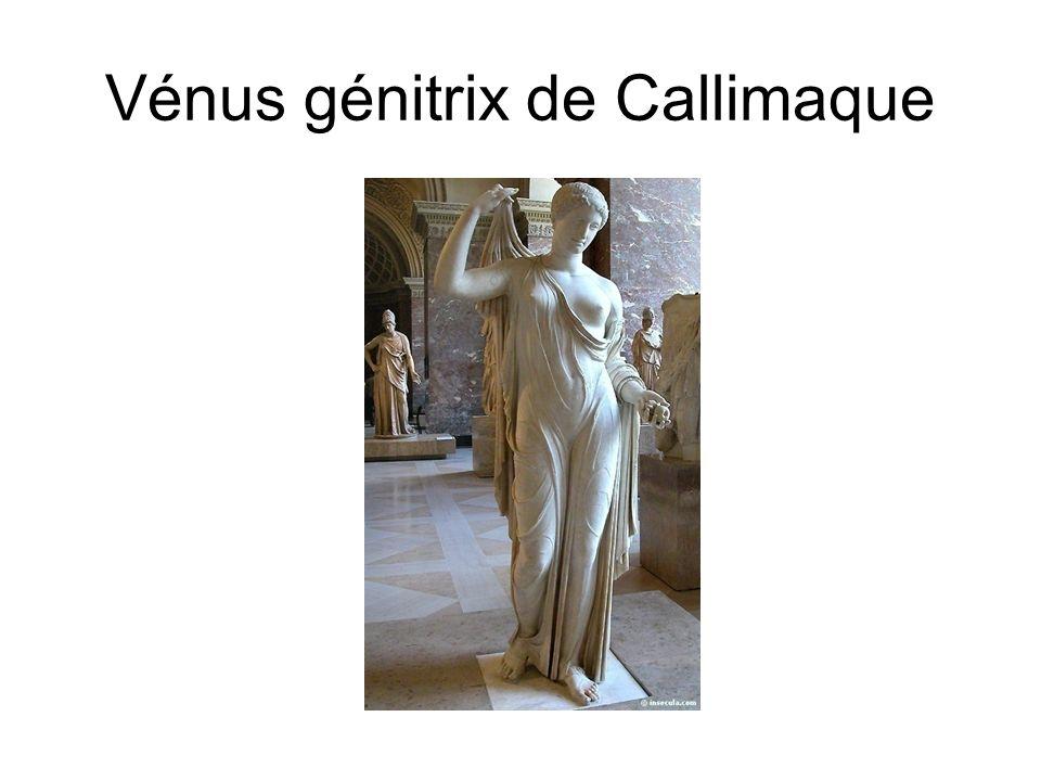 Vénus génitrix de Callimaque