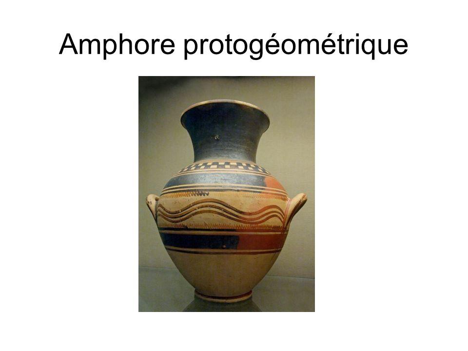Amphore protogéométrique