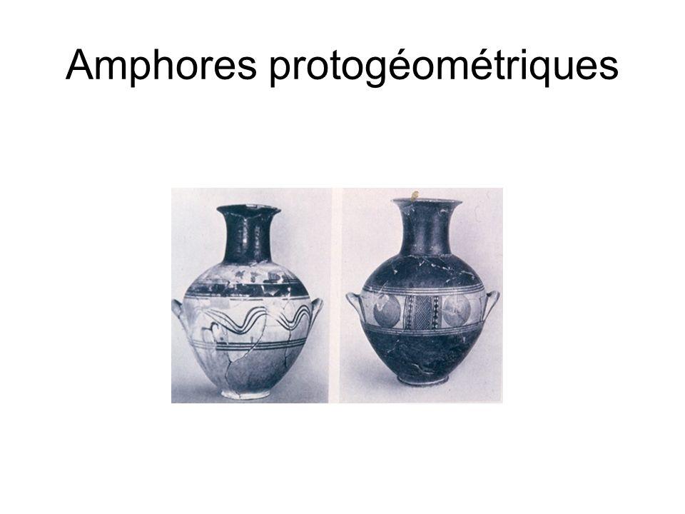 Amphores protogéométriques