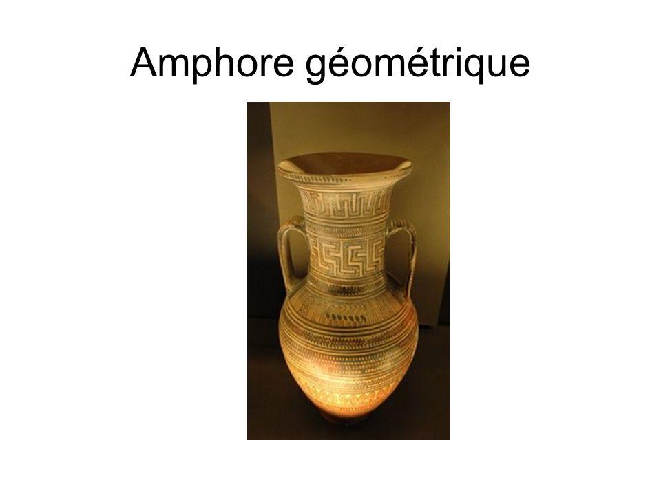Amphore géométrique