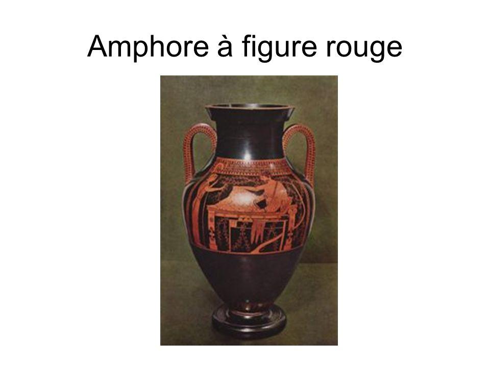 Amphore à figure rouge