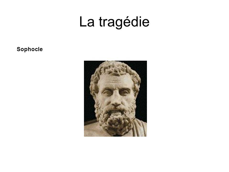 La tragédie Sophocle
