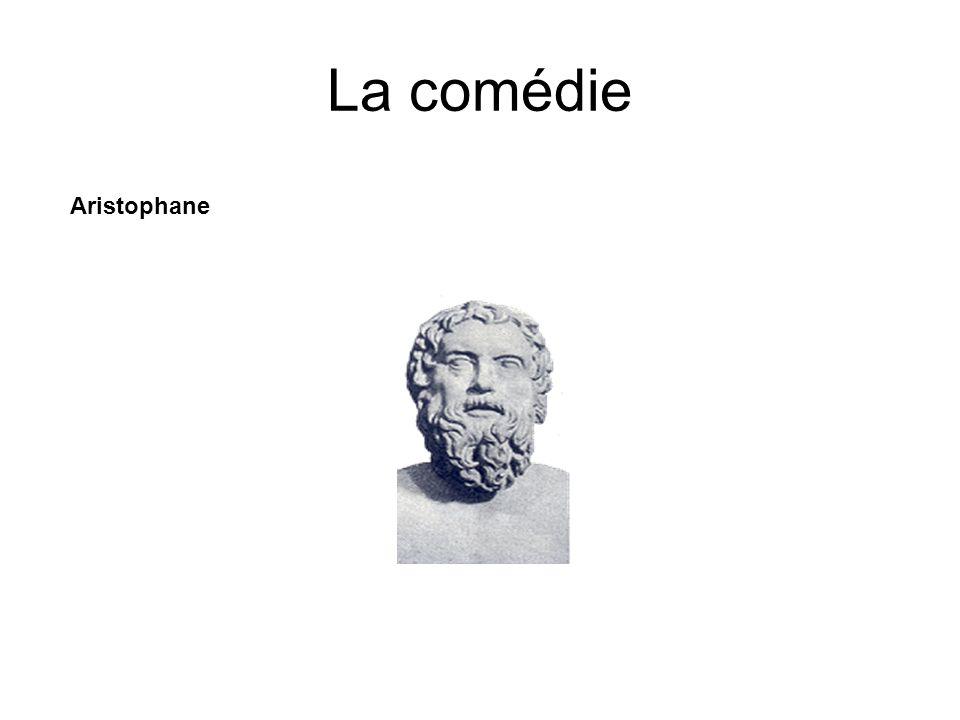 La comédie Aristophane