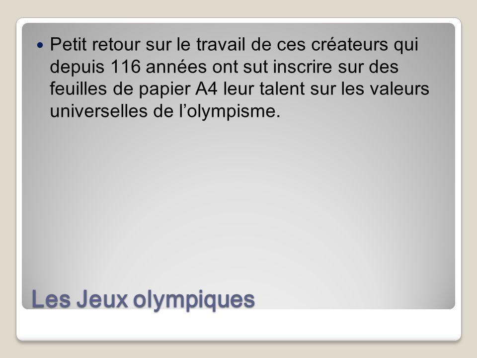 Les Jeux olympiques dans lantiquité ( λυμπιακο γώνες / olympiakoi agōnes) sont un concours sportif pentétérique (qui a lieu tous les quatre ans) organ