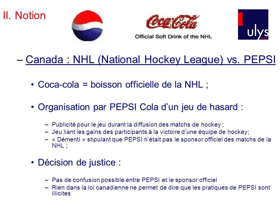 II.Notion –J.O. Lillehammer, 1994 : Visa vs.