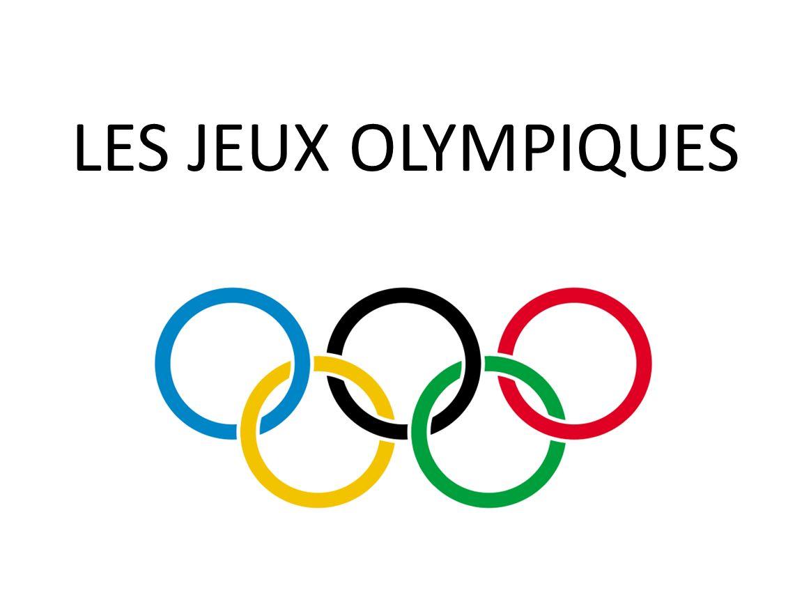 Nous allons vous présenter les jeux olympiques en 2 parties: les Jeux Olympiques sous lAntiquité Les Jeux Olympiques sous lantiquité ont était crée en Grèce en 776 avant Jésus-Christ.