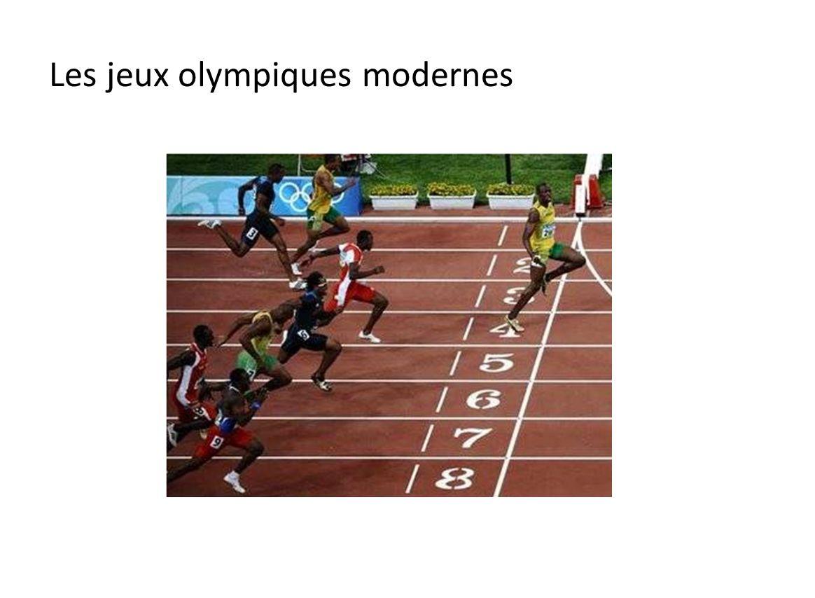 Les jeux olympiques antiques Les Jeux Olympiques sous lAntiquité ont été créés en Grèce dans la ville d Olympie en 776 avant Jésus-Christ.