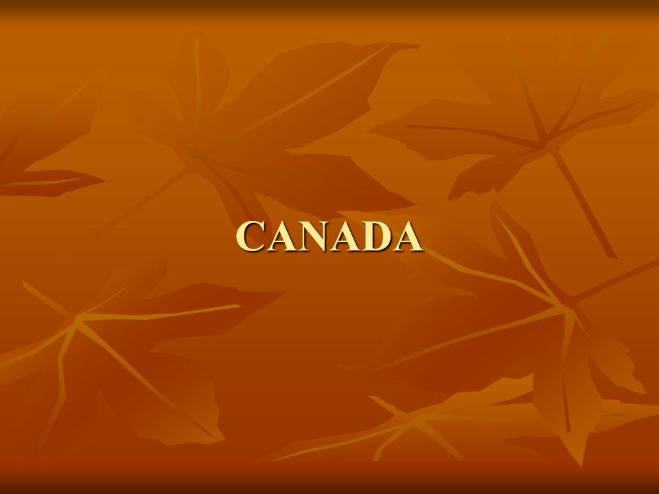 CANADA 2 ème pays le plus grand du monde après la Russie.