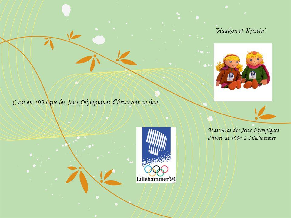 Cest en 1994 que les Jeux Olympiques dhiver ont eu lieu.