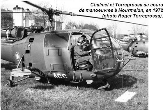 Chalmel et Torregrossa au cours de manoeuvres à Mourmelon, en 1972 (photo Roger Torregrossa).