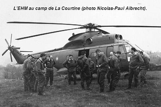 L'EHM au camp de La Courtine (photo Nicolas-Paul Albrecht).
