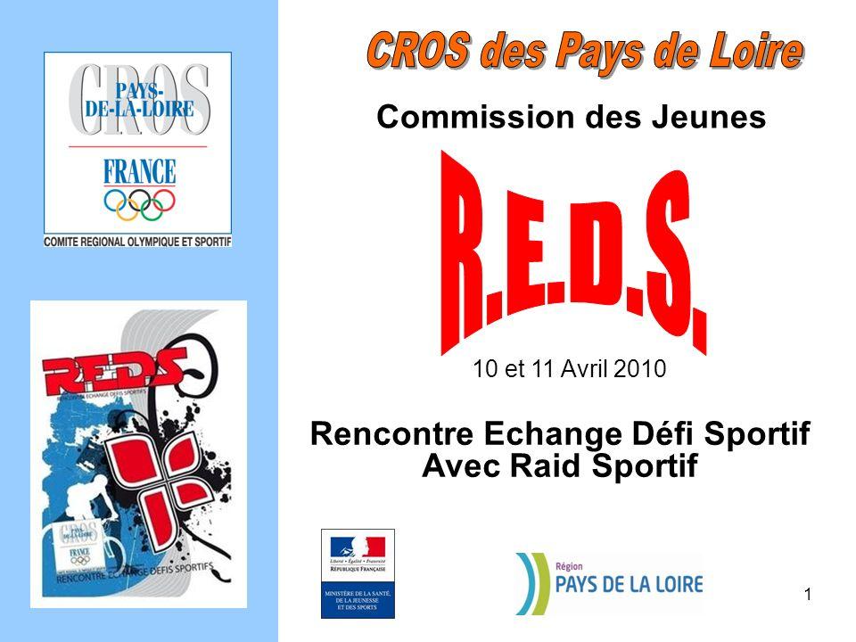 Commission des Jeunes 10 et 11 Avril 2010 Rencontre Echange Défi Sportif Avec Raid Sportif 1