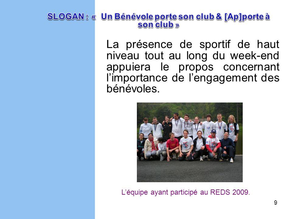 10 Les bénévoles du milieu sportif âgés de 18 à 35 ans licenciés dans la région des Pays de la Loire agissant dans lun des domaines suivants : Le jugement ou larbitrage dépreuves de compétition.
