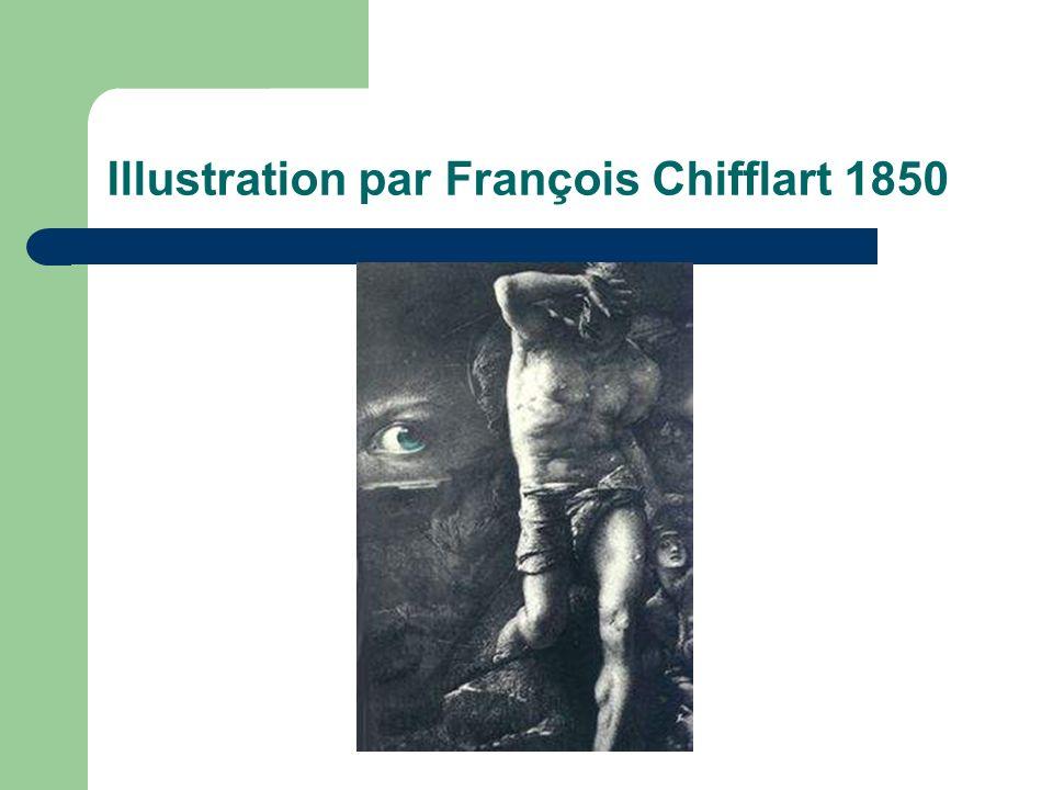 Illustration par François Chifflart 1850