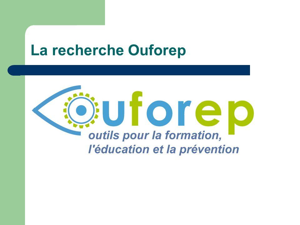 La recherche Ouforep