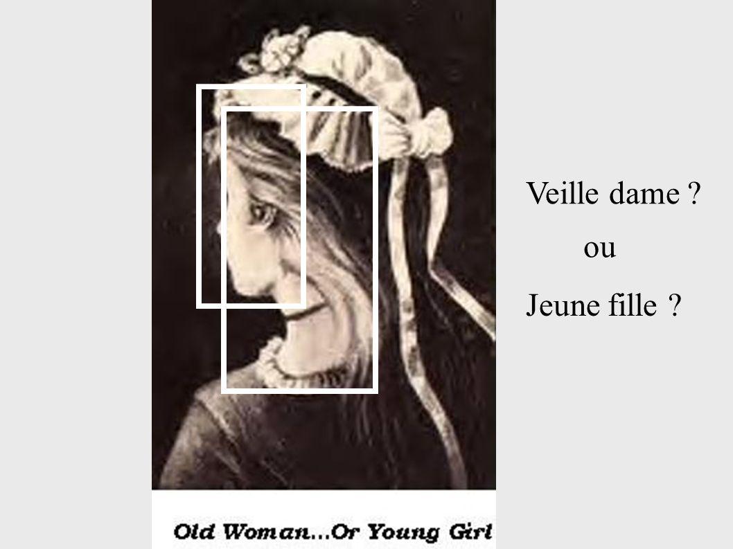 Veille dame ? ou Jeune fille ?