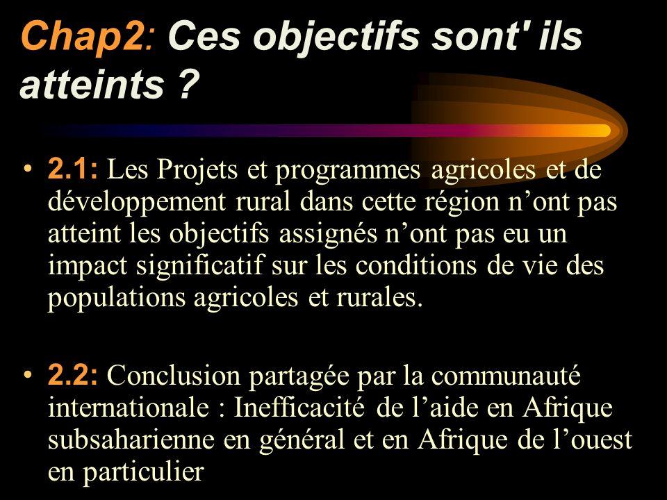 Chap5:Quelques éléments damélioration pour une efficacité de laide 5.14: Revoir le discours sur la démocratie et la participation des peuples si cest « de lextérieur » que viendrait le changement .