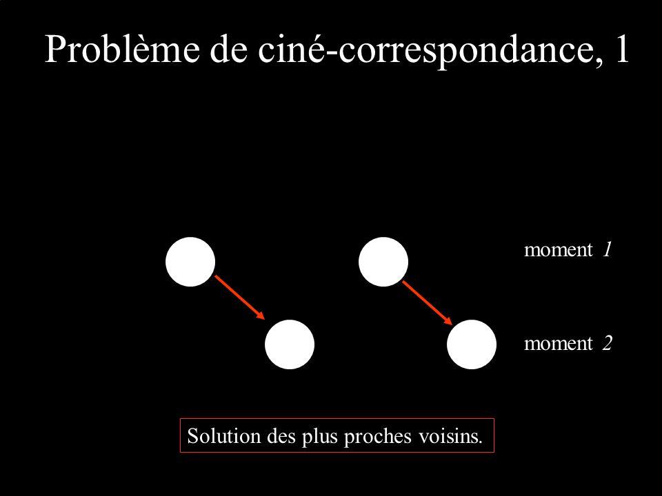 Problème de ciné-correspondance, 1 moment 1 moment 2 Solution des plus proches voisins.