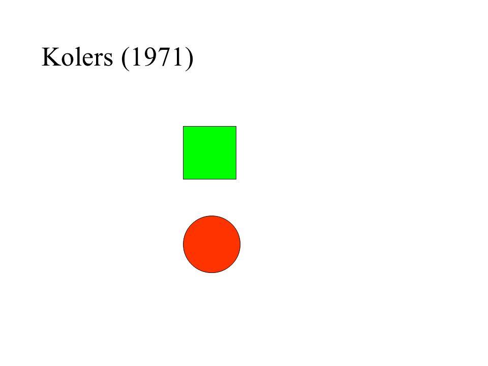 Kolers (1971)