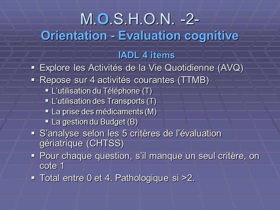 M.O.S.H.O.N.
