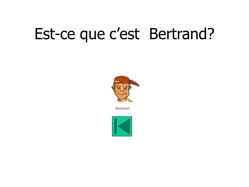 Est-ce que cest Bertrand